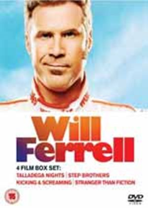 The Will Ferrell Box Set - Step Brothers / Talladega Nights / Kicking & Screaming / Stranger Than Fiction