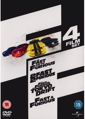 Fast And The Furious / 2 Fast And 2 Furious / Fast And Furious - Tokyo Drift / Fast And Furious
