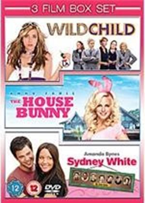 Triple bill of Teen Comedies - Wild Child / The House Bunny / Sydney White