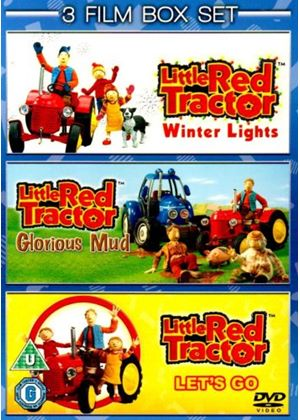Little Red Tractor Collection - Winter Lights / Let's Go / Glorious Mud