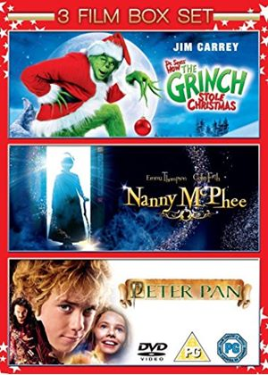 The Grinch / Nanny McPhee / Peter Pan