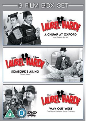 Triple bill of Laurel & Hardy - Chump at Oxford / Someone's Ailing / Way Out West