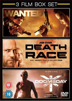 Triple bill of Action - Wanted / Death Race / Doomsday