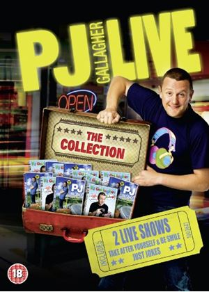 PJ Gallagher: Just Jokes / Live At Vicar Street Be Happy and Smile