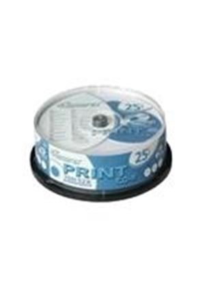Memorex - 25 x CD-R - 700 MB ( 80min ) 52x - printable surface - spindle - storage media