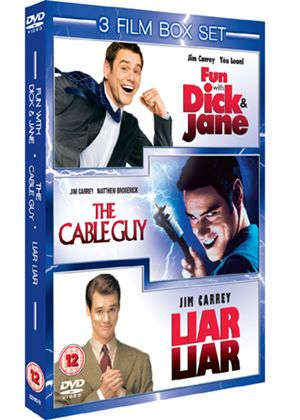 Fun With Dick and Jane / Liar Liar / Cable Guy (3 Film Set)