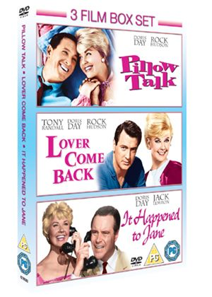 Pillow Talk / Lover Come Back / It Happened To Jane (3 Film Set)
