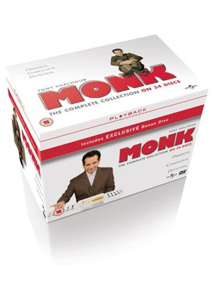 Monk - Season 1-8 Complete