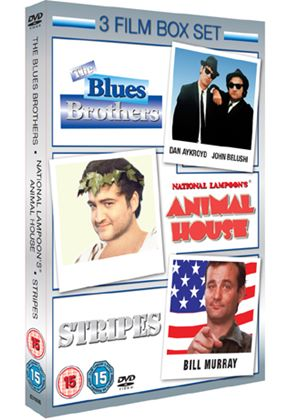 The Blues Brothers / Animal House / Stripes (3 Film Set)