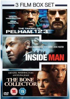 Taking Of Pelham 123 / Inside Man / The Bone Collector (3 Film Set)