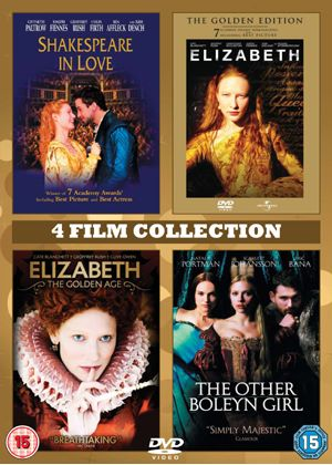 Shakespeare In Love / Elizabeth / Elizabeth - Golden Age / Other Boleyn Girl