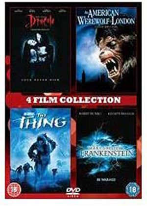 American Werewolf In London / Mary Shelleys Frankenstein / Dracula / The Thing