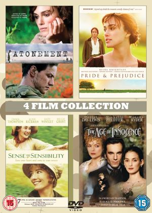 Atonement / The Age Of Innocence / Pride And Prejudice / Sense And Sensibility