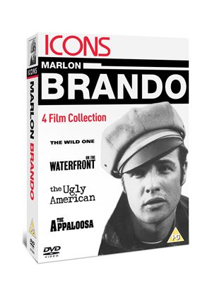 Icons: Marlon Brando Collection (The Wild One/ On The Waterfront/ The Ugly American/ The Appaloosa)