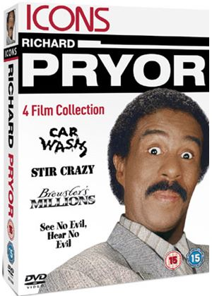 Icons: Richard Pryor Collection (Car Wash/ Stir Crazy/ Brewster's Millions/ See No Evil, Hear No Evil)