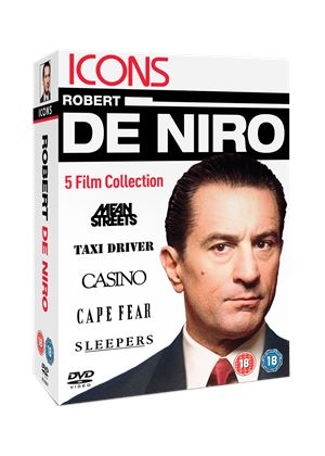 Icons: Robert De Niro Collection (Mean Streets/ Taxi Driver/ Casino/ Cape Fear/ Sleepers)