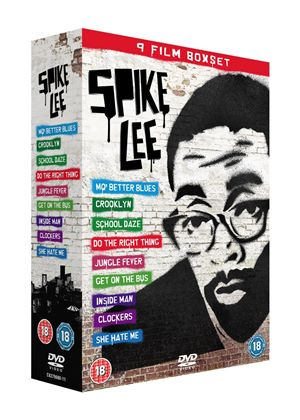 Spike Lee Box Set (Mo' Better Blues/ Crooklyn/ Inside Man/ Clockers/ School Daze/ She Hate Me/ Do The Right Thing/ Get On The Bus/ Jungle Fever)
