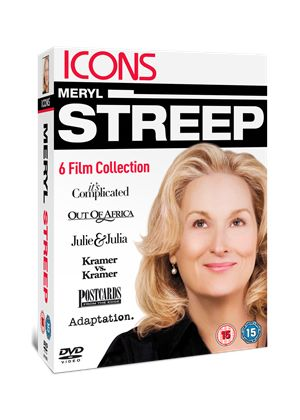 Icons: Meryl Streep Collection (It's Complicated/ Out Of Africa/ Julie & Julia/ Kramer Vs Kramer/ Postcards From The Edge/ Adaptation)