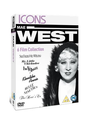 Icons: Mae West Collection (She Done Him Wrong/ Belle Of The Nineties/ I'm No Angel/ Klondike Annie/ My Little Chickadee/ The Heat's On)