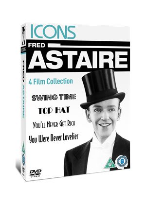 Icons: Fred Astaire Collection (Swing Time/ Top Hat/ You'll Never Get Rich/ You Were Never Lovelier)