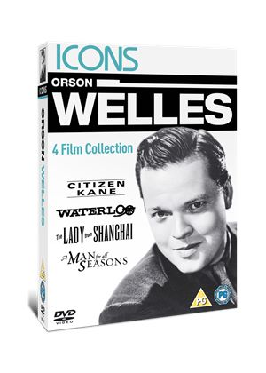 Icons: The Orson Welles Collection (Citizen Kane/ Waterloo/ The Lady From Shanghai/ A Man For All Seasons)