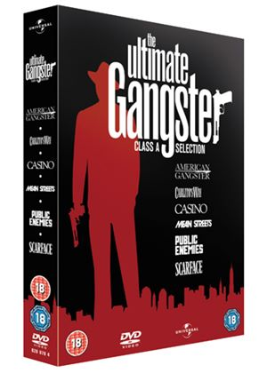 Ultimate Gangster Collection (American Gangster, Scarface, Casino, Carlito's Way and Mean Streets)