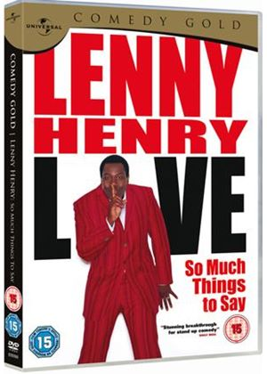 Lenny Henry - So Much Things To Say Live - Comedy Gold 2010