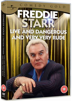Freddie Starr - Live And Dangerous - Comedy Gold 2010