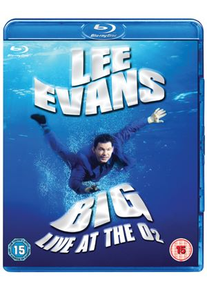 Lee Evans - Big - Live At The O2 (Blu-Ray)