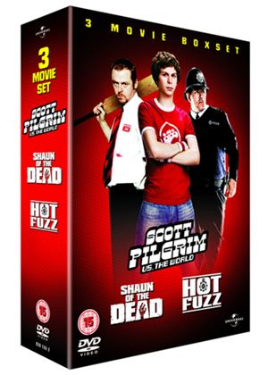 Scott Pilgrim vs. The World/Hot Fuzz/Shaun of the Dead Box Set