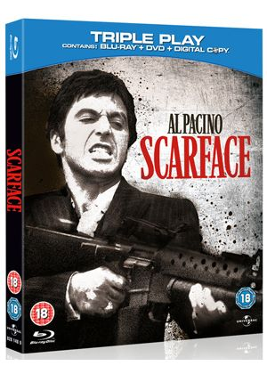 Scarface - Triple Play (Blu-ray + DVD + Digital Copy)