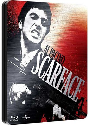 Scarface - Limited Edition Steelbook (Blu-Ray)