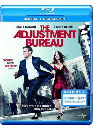 The Adjustment Bureau - Triple Play (Blu-ray + DVD + Digital Copy)