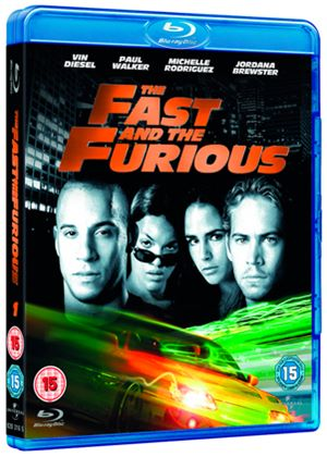 The Fast And The Furious (2011 Re-sleeve) (Blu-ray)