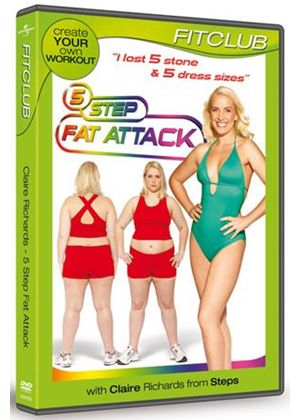 5 Step Fat Attack With Claire Richard's From Steps - Fit Club 2011