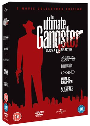 The Ultimate Gangsters: American Gangster / Carlito's Way / Casino / Public Enemies / Scarface (5 Disc Boxset)