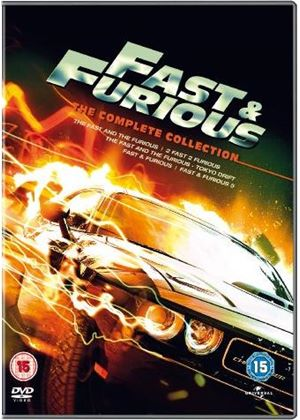 Fast & Furious 1 - 5