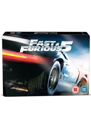 Fast & Furious 5 - Limited Edition Steelbook Triple Play (Blu-Ray)