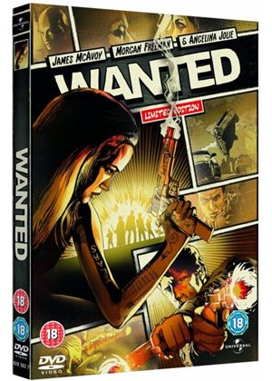 Wanted - 2008 (Reel Heroes Sleeve)