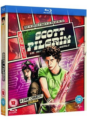 Scott Pilgrim Vs. The World (Reel Heroes Sleeve) (Blu-Ray)