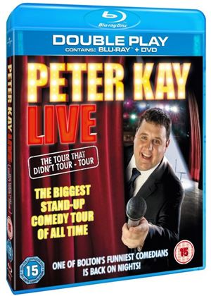Peter Kay Live:  The Tour That Doesn't Tour Tour - Double Play (Blu-ray + DVD)