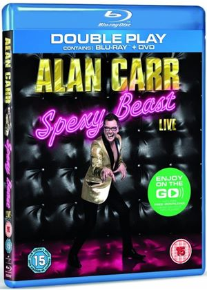 Alan Carr Spexy Beast Live - Double Play (Blu-ray + DVD) with Digital Audio MP3 File