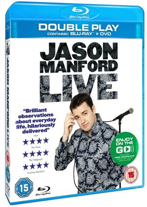Jason Manford Live 2011 - Double Play (Blu-ray + DVD) with Digital Audio MP3 File