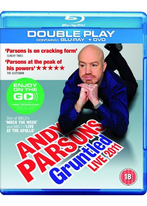 Andy Parsons Gruntled Live 2011 - Double Play (Blu-ray + DVD) with Digital Audio MP3 File