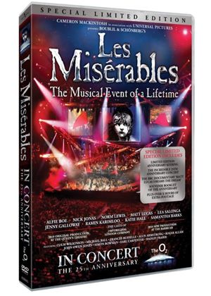 Les Miserables 25th Anniversary - Special Limited Edition (With Keyring)