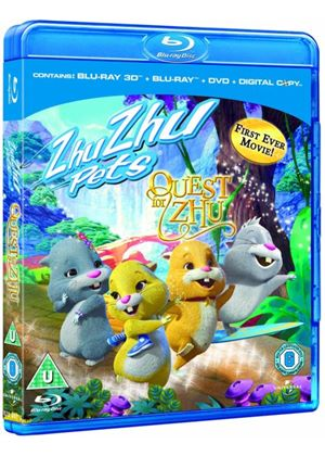 Zhu Zhu Pets: Quest for Zhu - 3D Super Play (Blu-ray 3D)