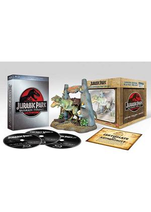 Jurassic Park Ultimate Trilogy - Limited Ultimate Collector's Edition (Blu-ray + Digital Copies + T-Rex Model)