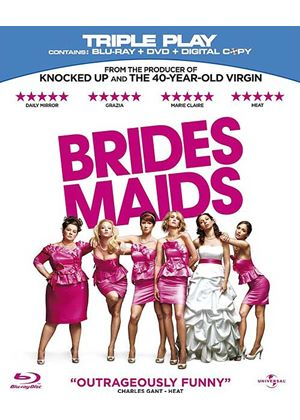 Bridesmaids - Triple Play (Blu-ray + DVD + Digital Copy)