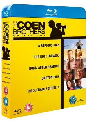 The Coen Brothers Collection (Blu-Ray)A Serious Man/The Big Lebowski/Barton Fink/Burn After Reading/Intolerable Cruelty