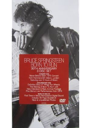 Bruce Springsteen - Born to Run: 30th Anniversary Edition [1CD + 2DVD Box] (Music CD)